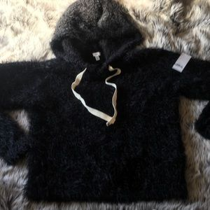"""""""BP"""" SOFT FUZZY SWEATER- NEW WITH TAGS"""